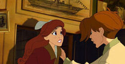 Young Anastasia and Young Dimitri