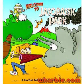 File:FoxTrot Book Welcome to Jasorassic Park.jpg