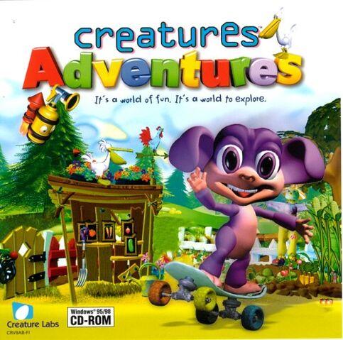 Fichier:Creaturesadventurescover.jpg