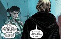 Shara Bey meets Luke Skywalker