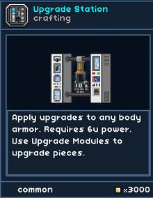 UpgradeStation