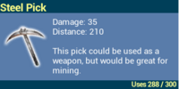 Steel Pick