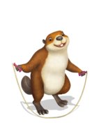 BeaverJumpingRope