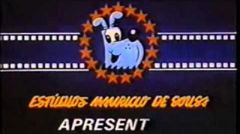 Estudios Mauricio De Sousa Apresentam (1982-1992) Logo-0