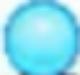 Blue ball sprite
