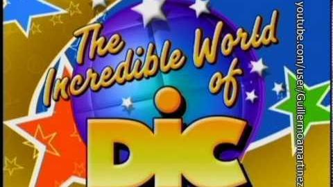 Especiales- Logo de DIC (The Incredible World of DIC!) (2002) (DVD, 2002) 4-3
