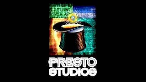 Presto Studios animated logos