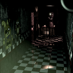 Spring Bonnie's poster appearance on CAM 02.