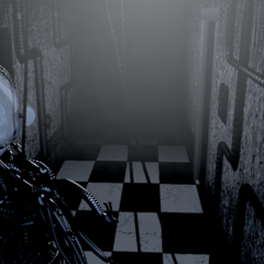 Ennard closer to the player in CAM 02.