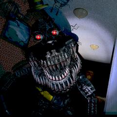 Nightmare in the Left Hall, brightened.