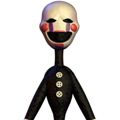 The Puppet's full body hallucination.