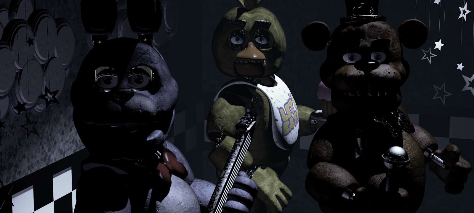 five nights at freddy's horror game