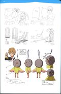 Guidebook Miho and Iwatobi-chan Design