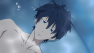 Haruka in the bath