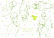 Hs rough sketch makoto