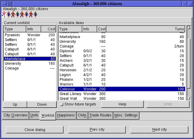 Fichier:Citydlg worklists freeciv113 gtk.png