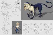 Monkey concept art