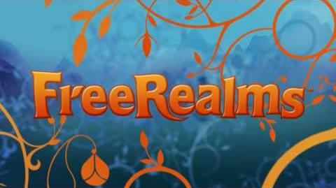 Free Realms Official First Birthday Yearbook