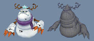FreeRealms snowmanBoss 3D
