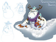 FreeRealms SnowmanBoss