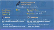 Medic's Bonesaw of Immunization item
