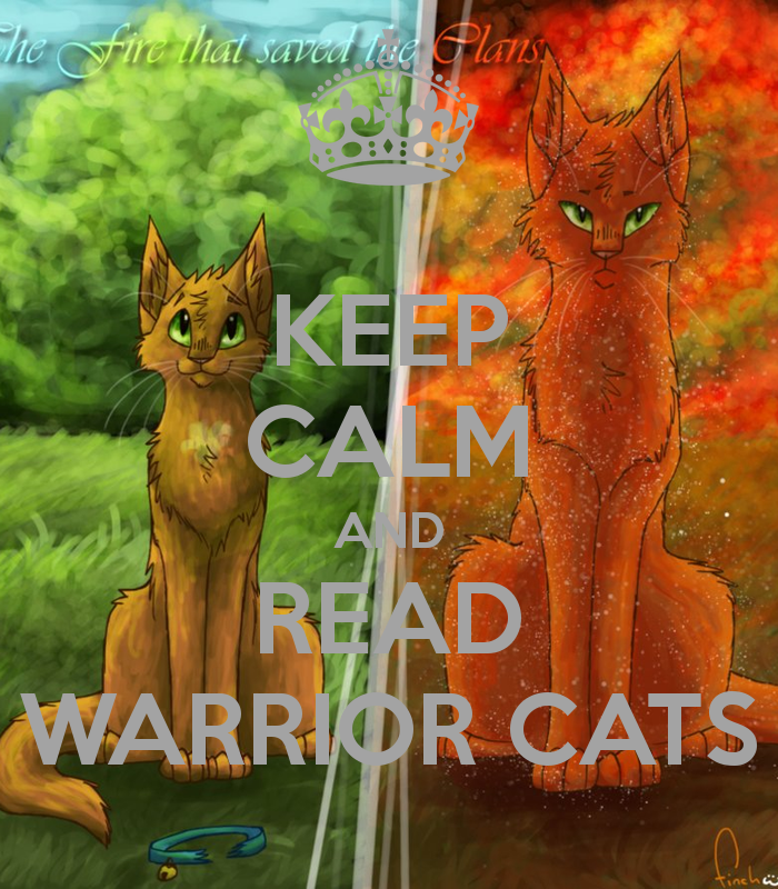 Warriors Imagine Dragons Krafta: Image - Keep-calm-and-read-warrior-cats-9.png