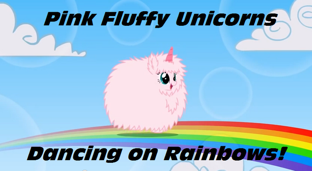 File:Pink fluffy unicorns dancing on rainbows by umithemusicalpony-d6cgs1k.png
