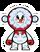 Snowman Woolhat