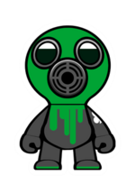 Gas mask steam punk
