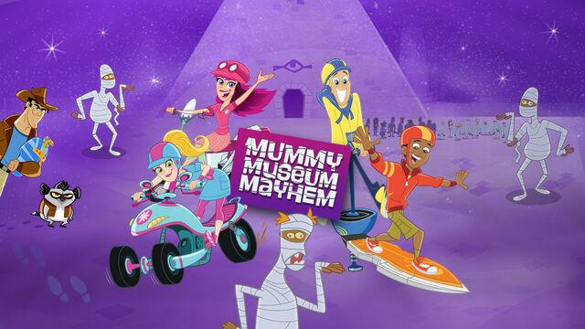 File:Fresh Beat Band of Spies Mummy Museum Mayhem Game Promo Image.jpg