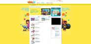 FBBOS Original NickJr.com Page