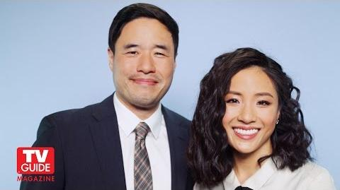 Fresh Off the Boat! Randall Park and Constance Wu talk about the new show!-0