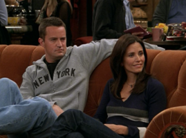 Monica and Chandler (9x17)