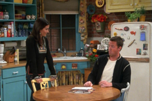 Monica and Chandler (9x21)