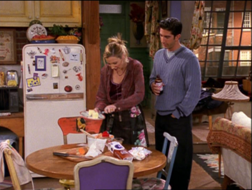 Phoebe and Ross (4x08)