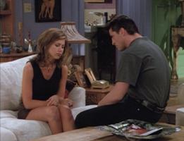 Rachel and Joey (2x01)
