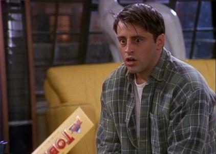 Joey Sees Toblerone