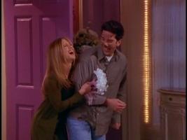Rachel married ross