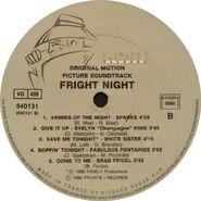 Fright Night France Soundtrack LP 04