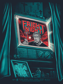Fright Night Poster Gary Pullin - Regular Version limited ed 100