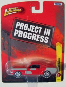 Johnny Lightning Work in Progress Fright Night Mustang