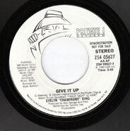 Give It Up - Evelyn Champagne King - Double-A Side 45