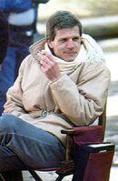 Fright Night 1985 Director Tom Holland Smoking On-Set
