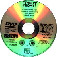 Fright Night DVD Germany 2 Disc