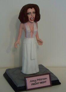 Clayguy Figurine - Fright Night Amy Peterson Vampire Amanda Bearse
