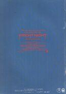 Fright Night 1985 Japanese Souvenir Program 02 Back