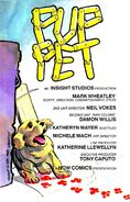 Fright Night Comics Pup Pet Title Page