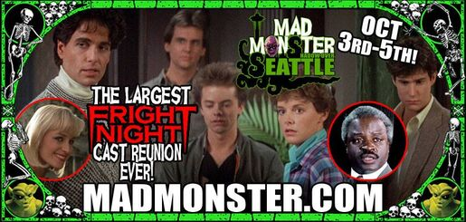 Mad Monster Fright Night Reunion 2014