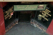Typeset-Antiques store