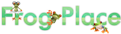Frog place logo